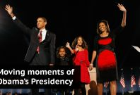 Moving Moments Of Barack Obama's Presidency