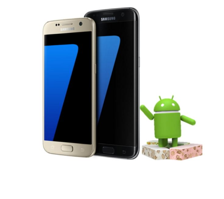 Android 7.0 Nougat for Galaxy S7, S7Edge