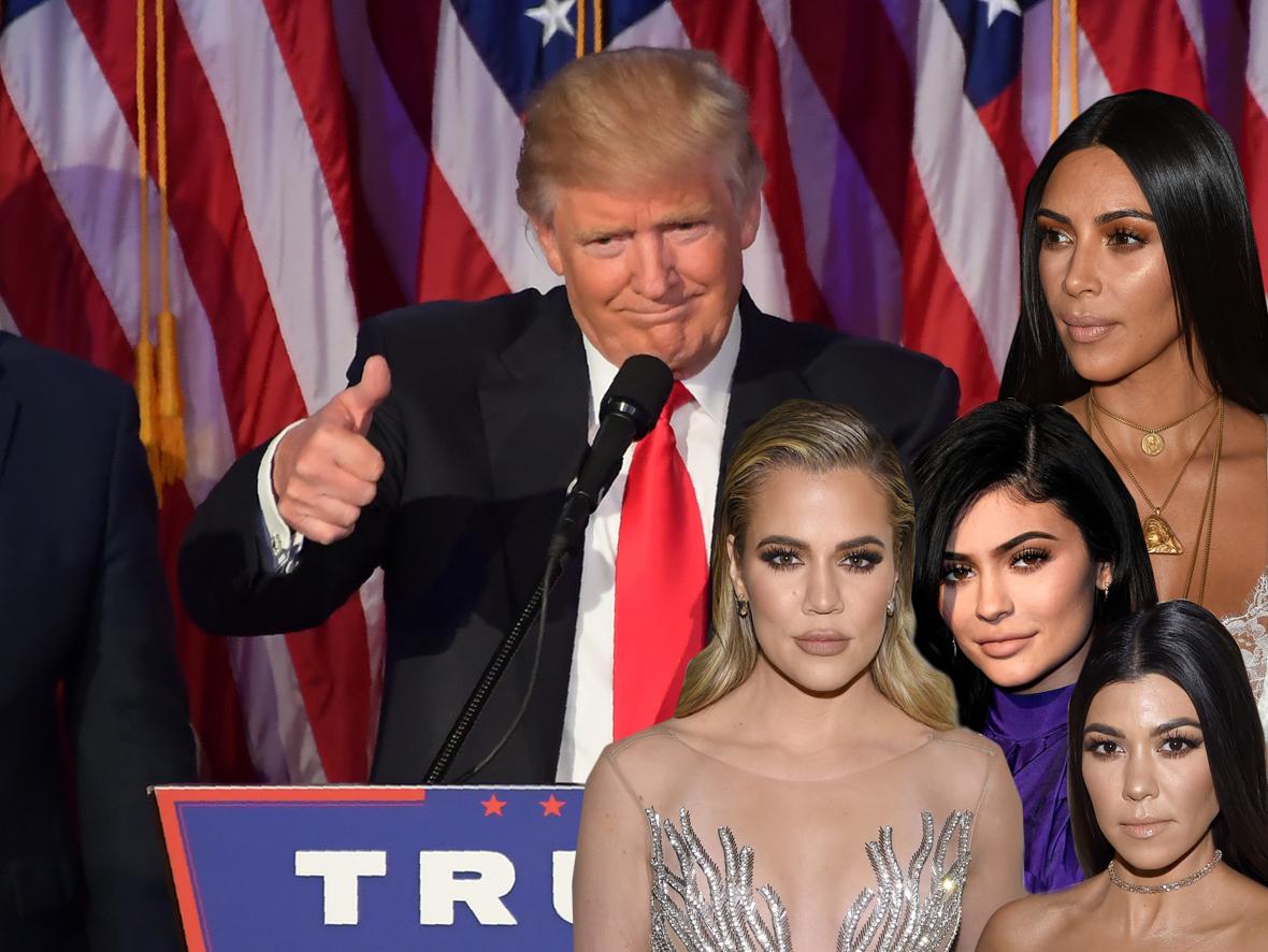 Kardashian trump