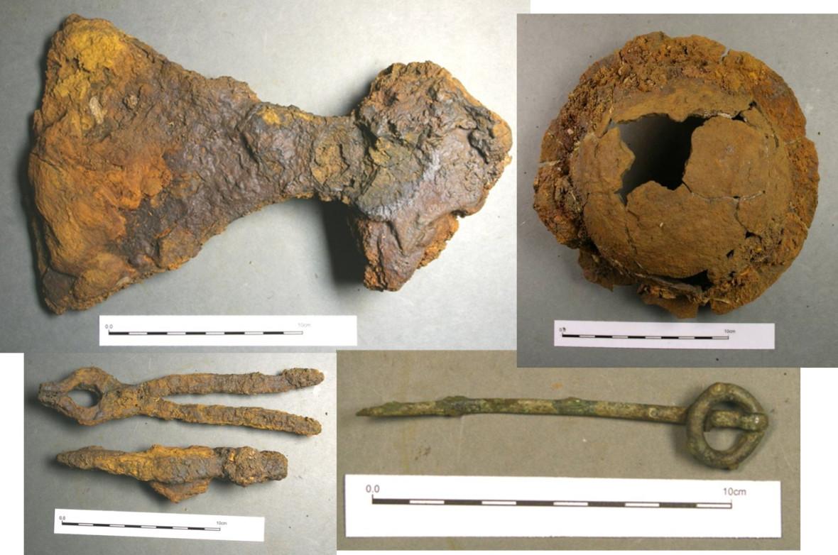 Viking boat burial