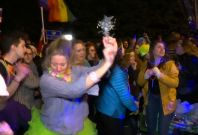 LGBTQ Protesters Organize Dance Party In Front Of Mike Pence's Home