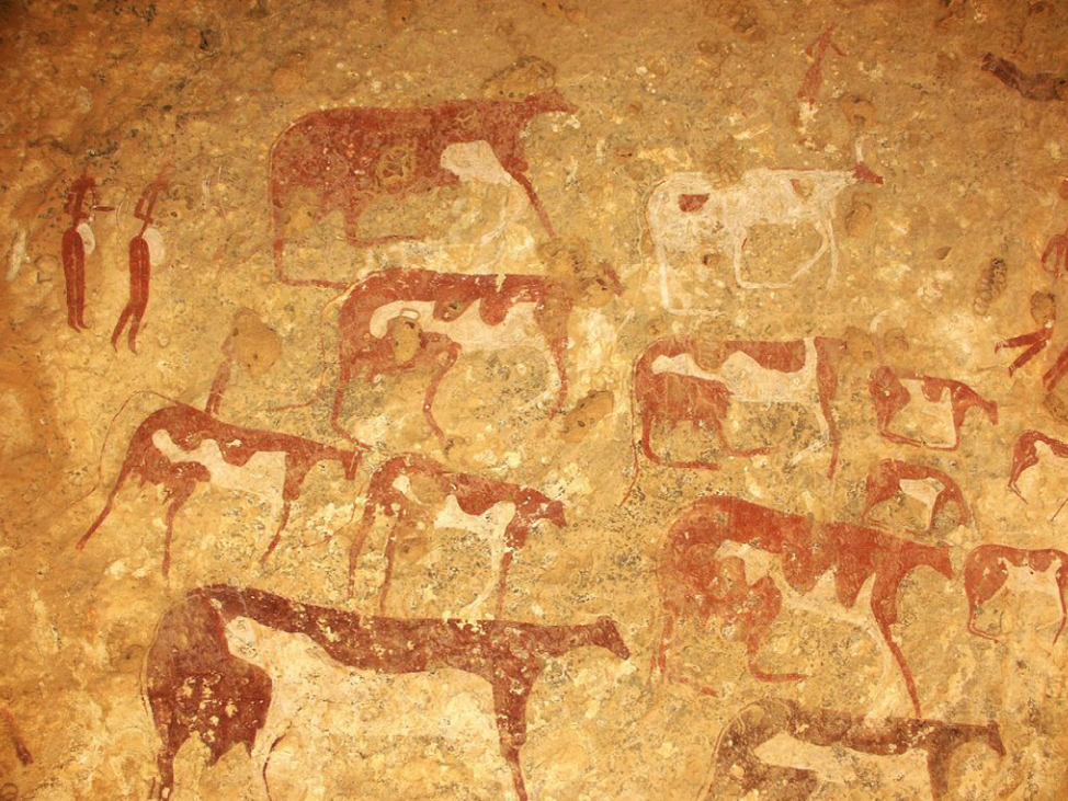 Cattle rock art