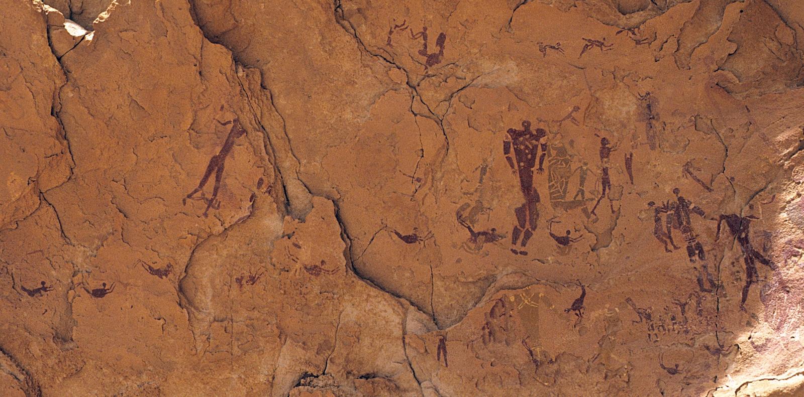 Gilf Kabir rock art