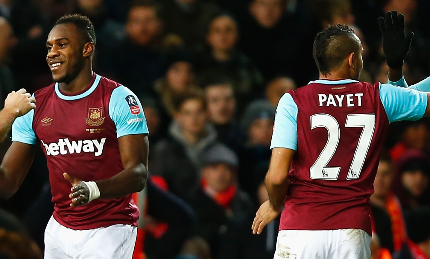 Michail Antonio and Dimitri Payet