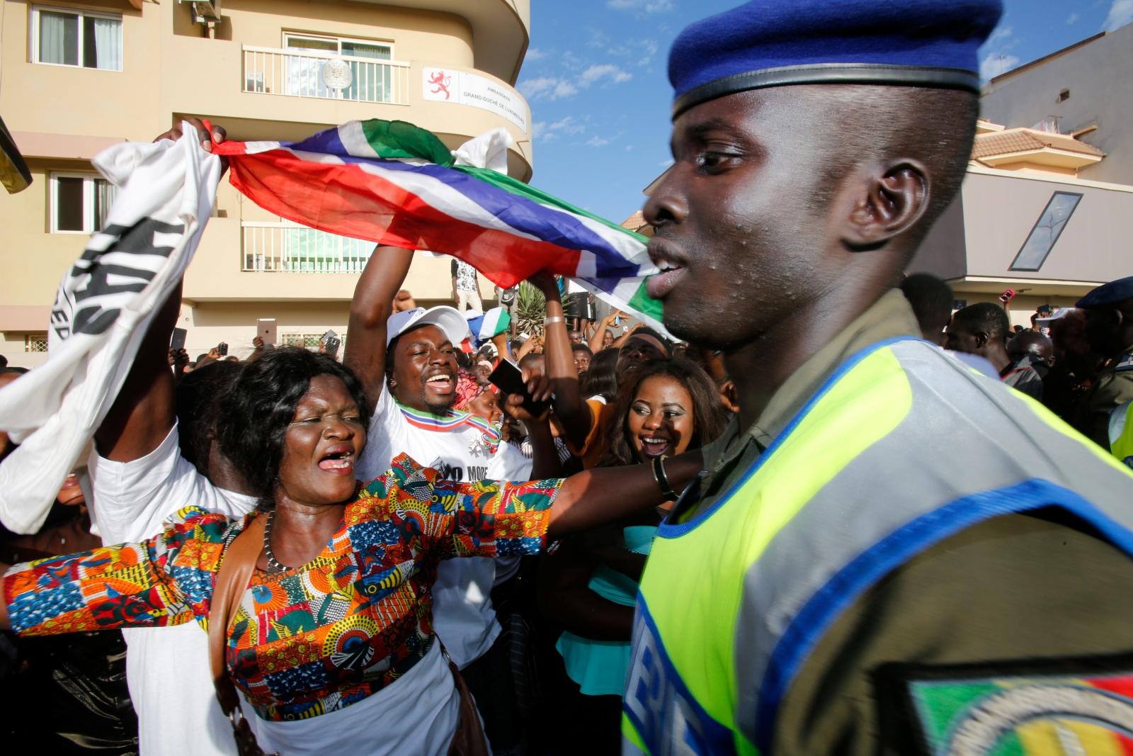 Gambia Senegal adama barrow