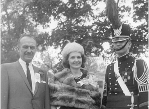 Fred Trump and Mary Anne MacLeod