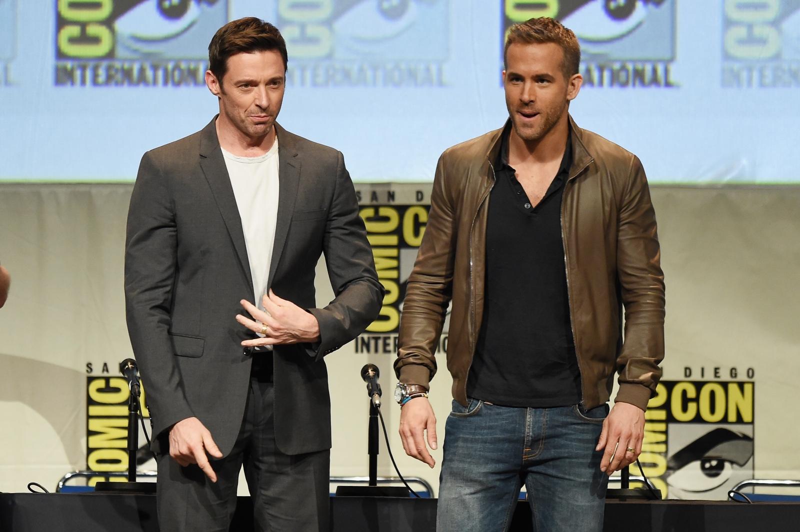 Hugh Jackman and Ryan Reynolds