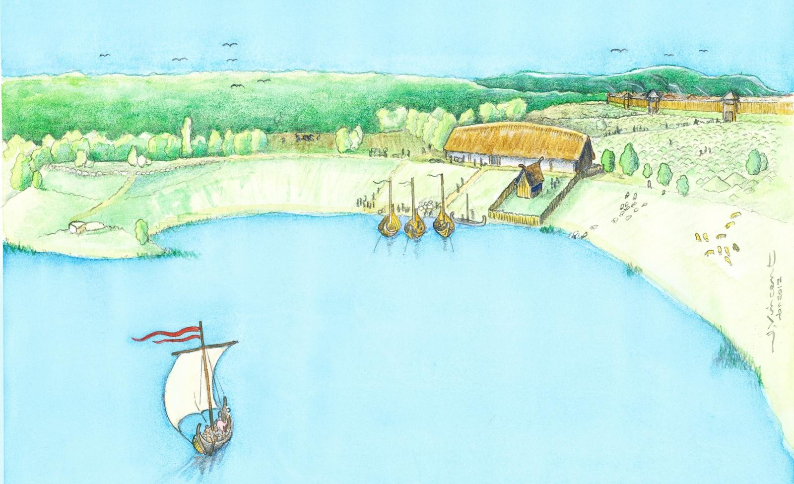 Viking terrace