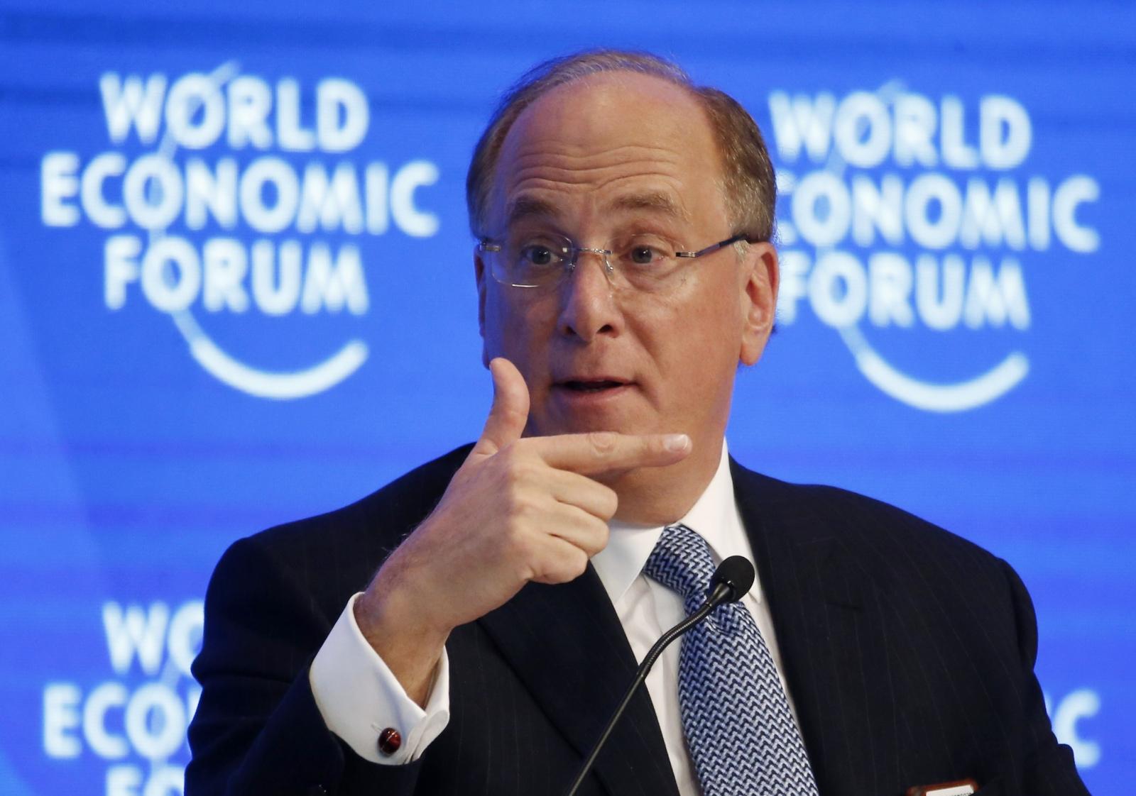 Laurence Fink Davos 2017