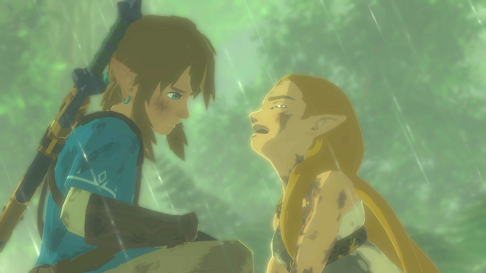 Zelda Breath of the Wild trailer crying