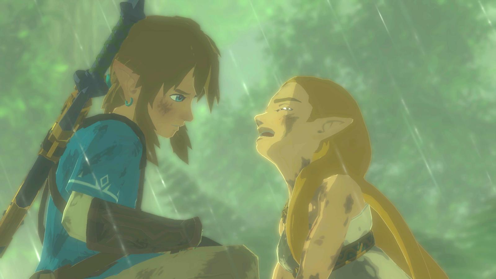 Zelda Breath of the Wild trailer crying