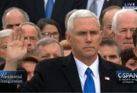 Mike Pence Sworn In As Vice President Of The United States
