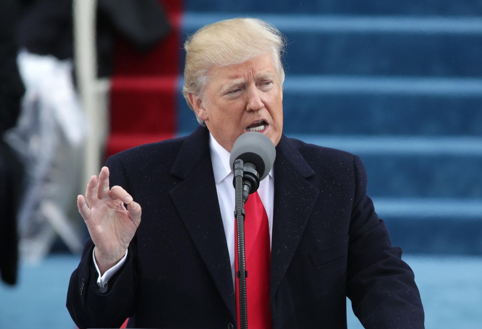 Trump first speech as President