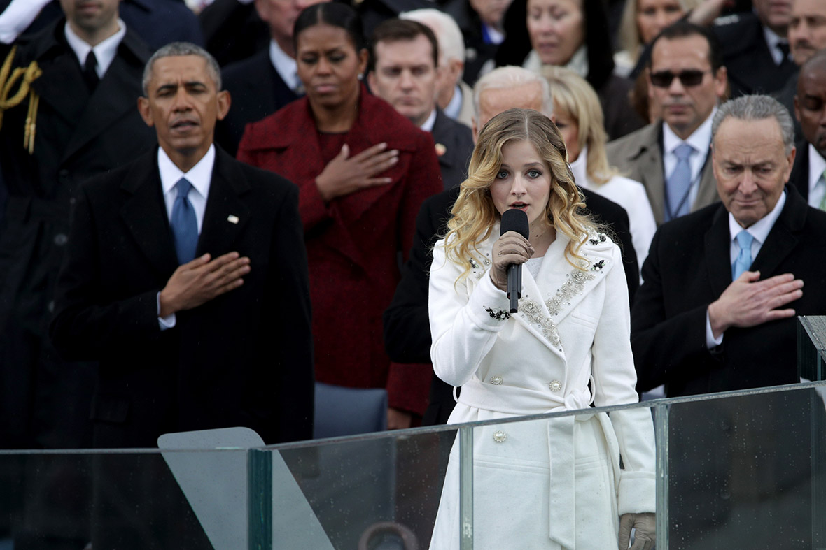 Jackie Evancho Risks Inauguration Voice to Sing for Trump