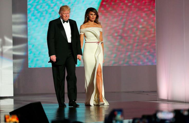 trump first dance