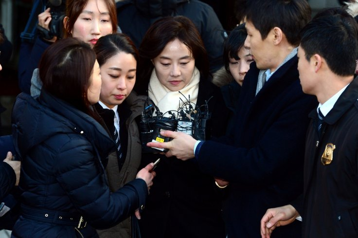 Culture Minister Cho Yoon-sun