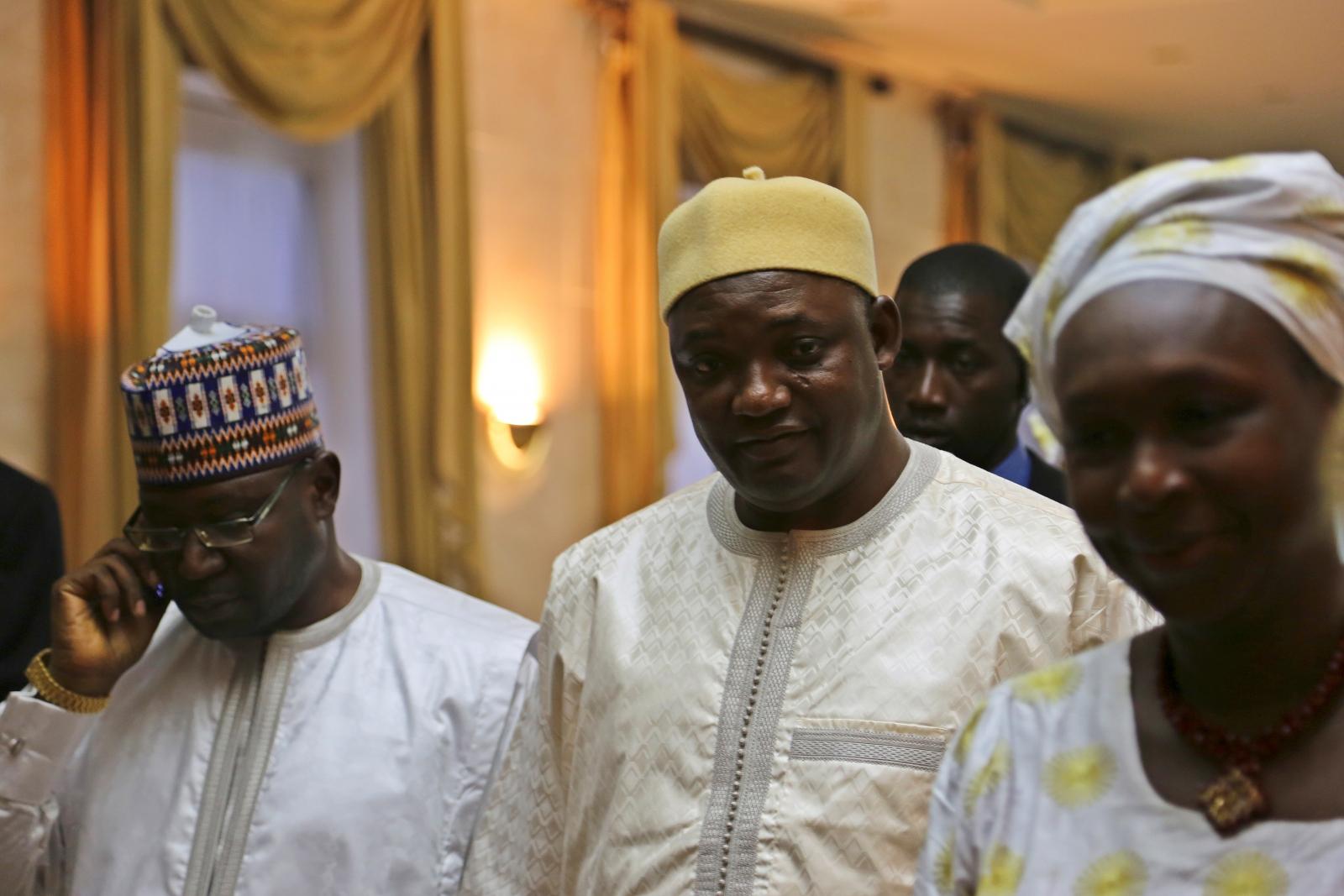 Gambia's President Adama Barrow
