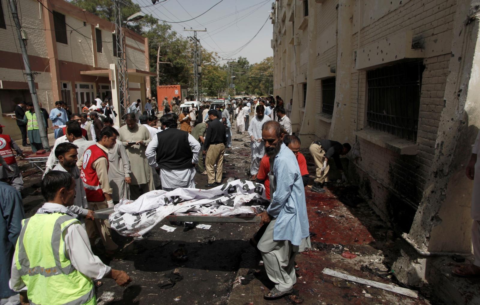 Blast in Pakistan