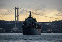 Russian war ship