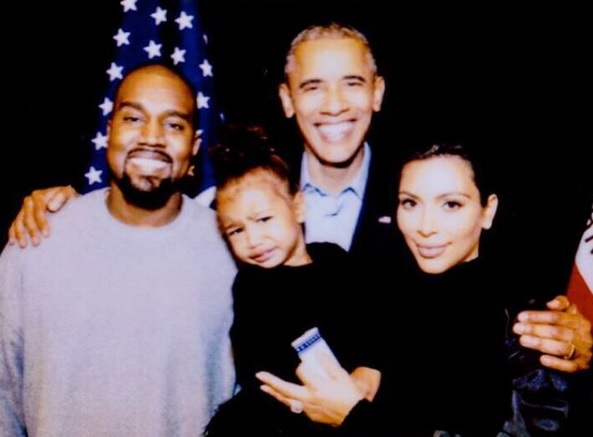 Barack Obama with the Kardashians