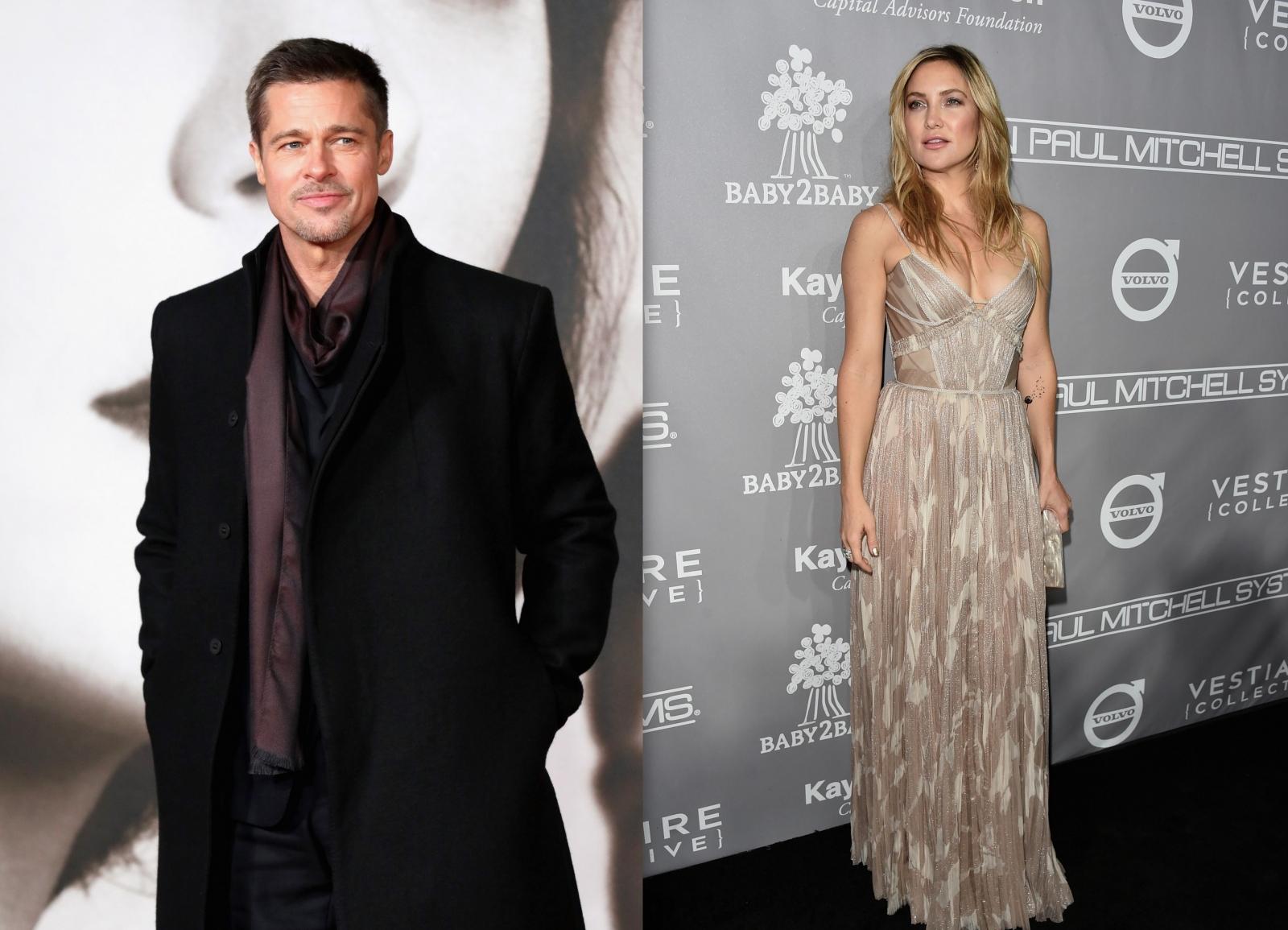 Brad Pitt Kate Hudson