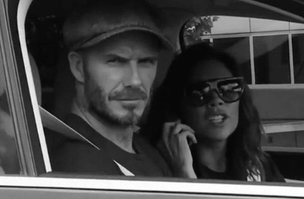Brooklyn Beckham video of David and Victoria