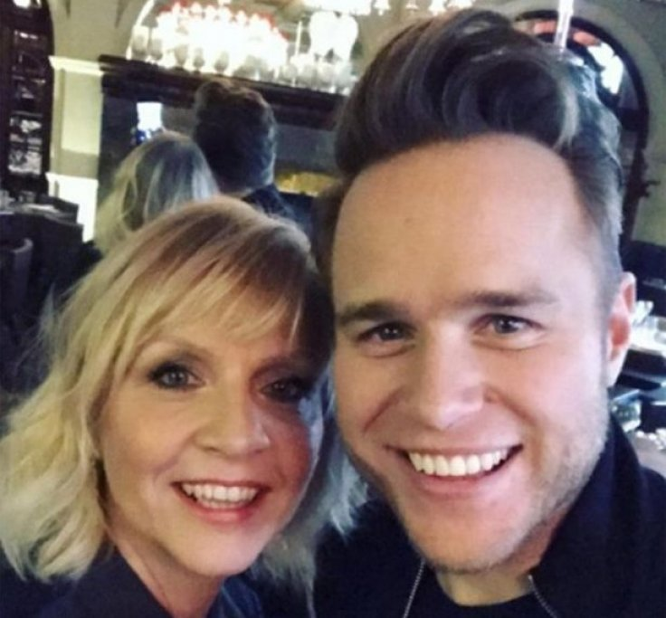 Olly Murs and his mum Vicylynn