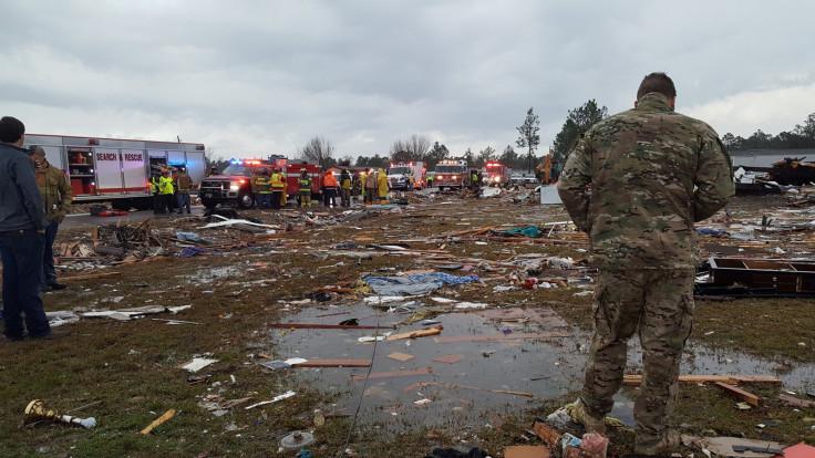 Georgia storm tornado