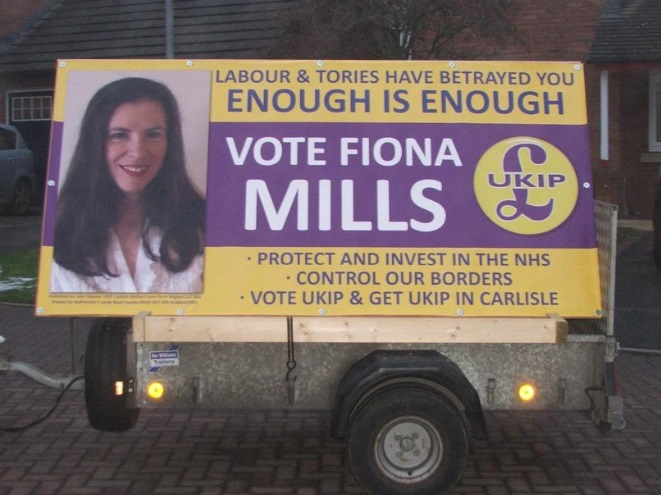 Fiona Mills poster