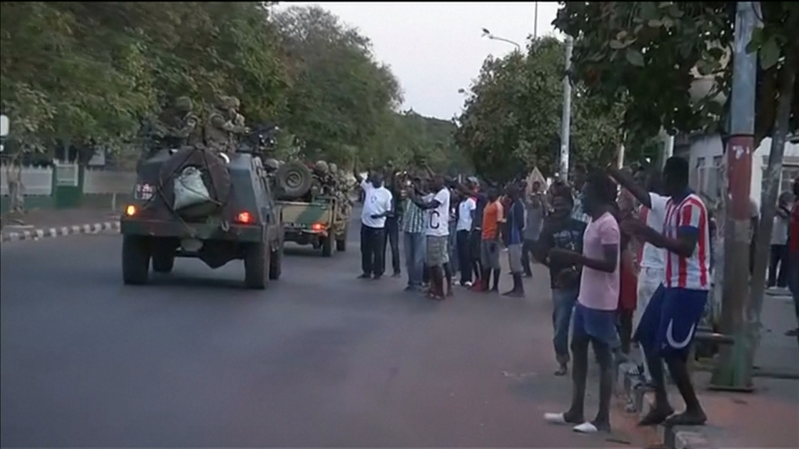 West African military force enters Gambia capital