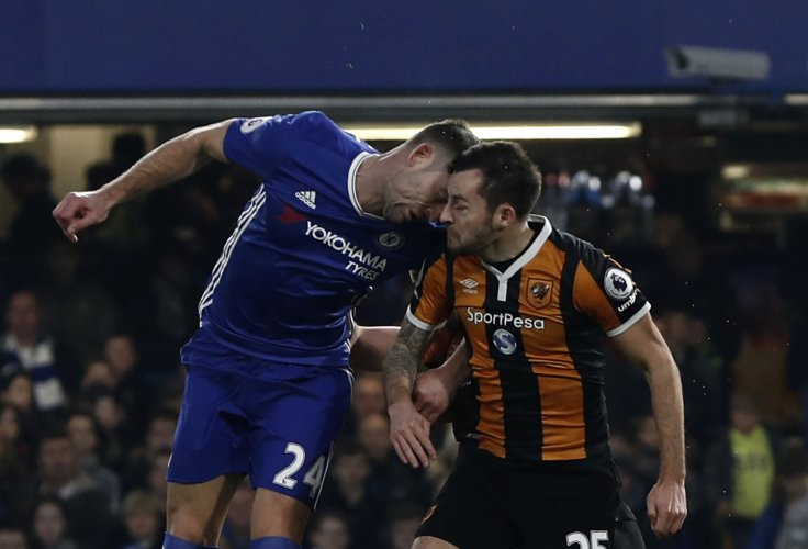 Ryan Mason and Gary Cahill