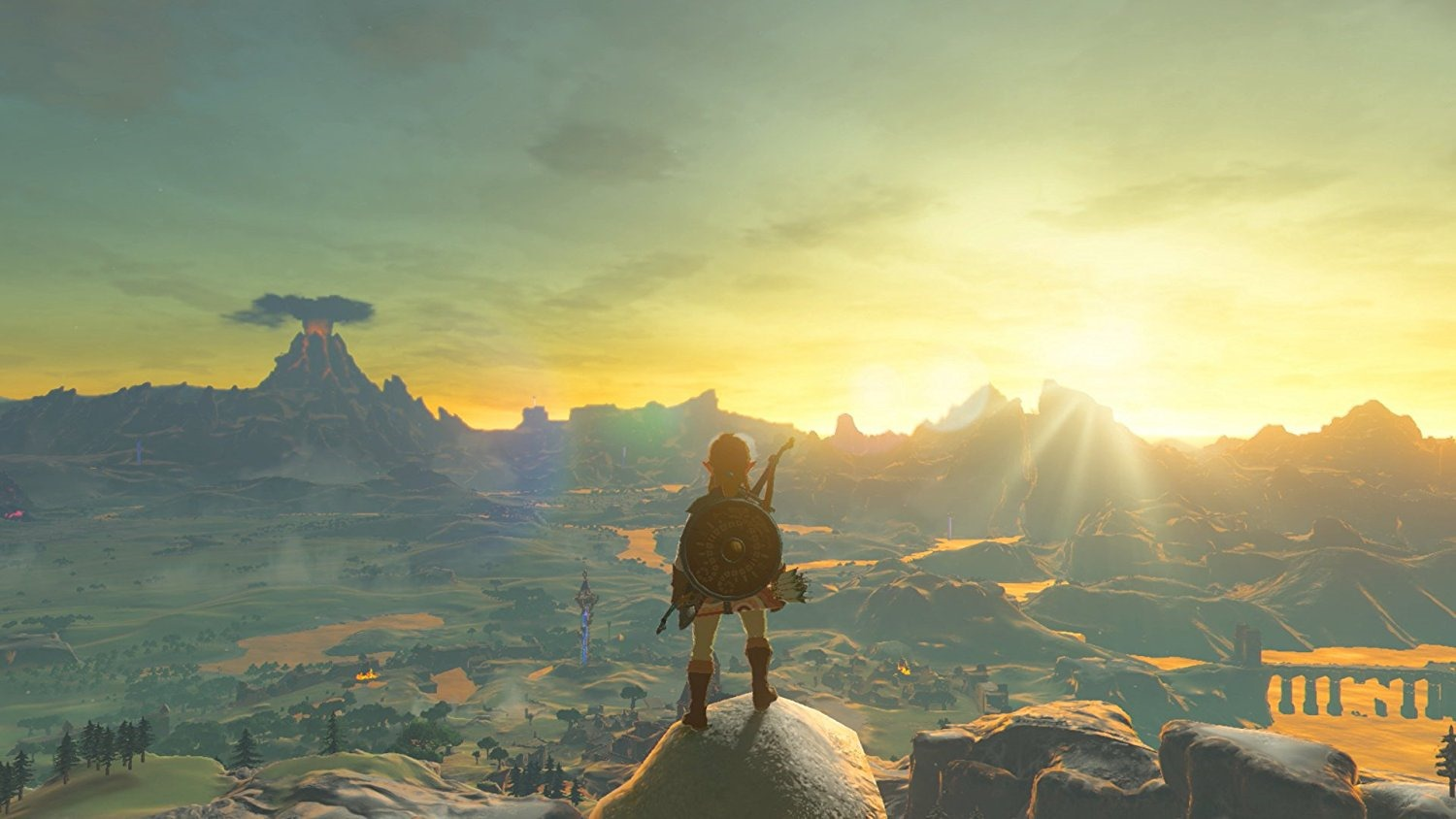 photo about Printable Legend of Zelda Map known as The Legend of Zelda: Breath of the Wild trailer