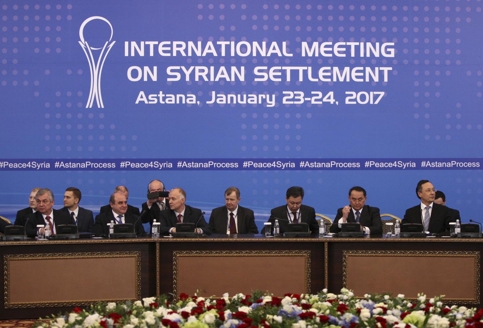 Participants of Syria peace talks
