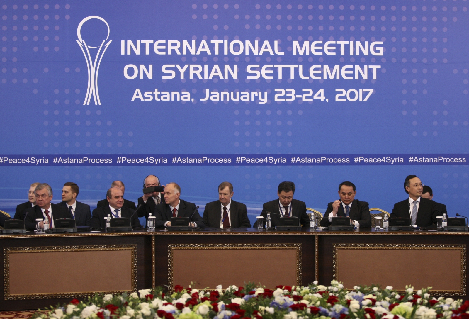 Participants of Syria peace talks