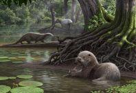 ancient monster otter