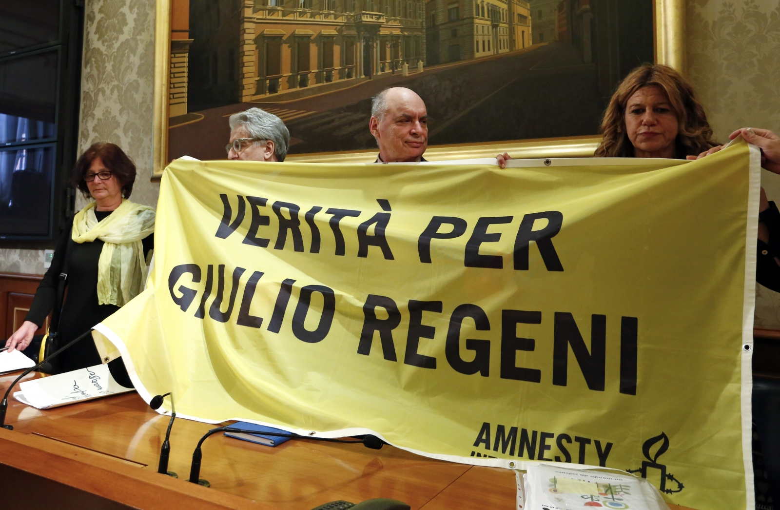 Murdered Giulio Regeni's family begs Pope Francis to seek truth during papal visit to Egypt