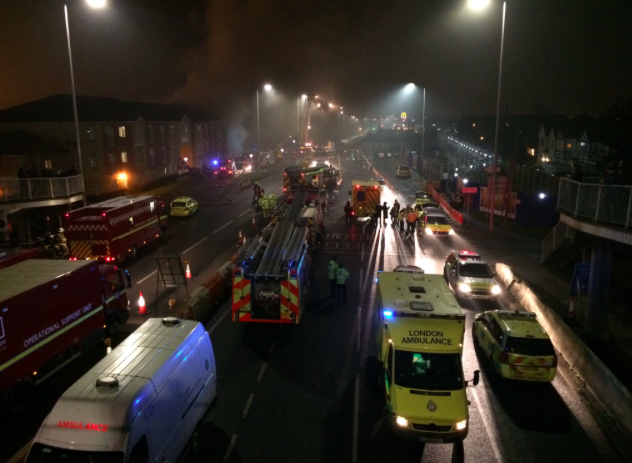 Hornchurch explosion