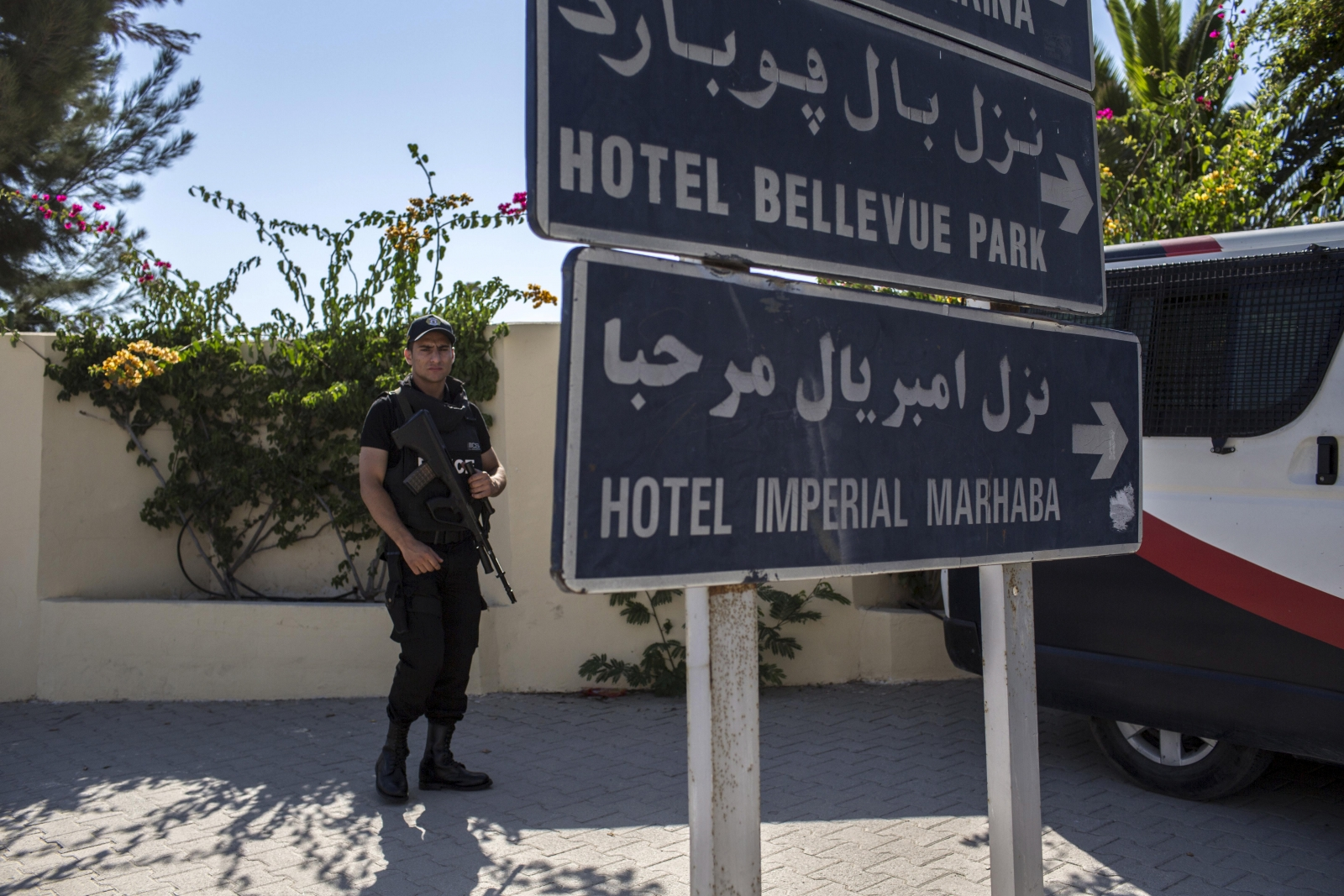 Tunisia beach attack