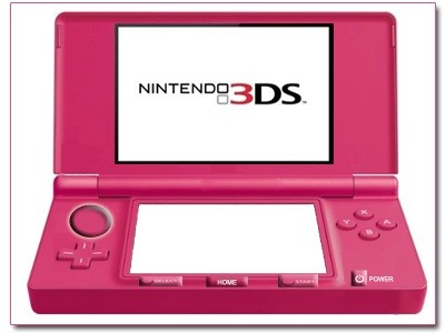 Nintendo Unveil Pink 3DS in Bid to Turn-On Female Users