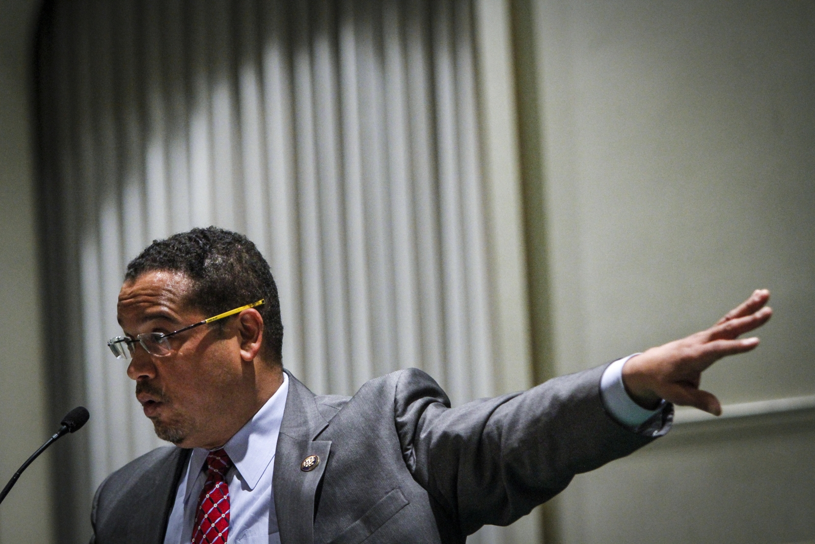 DNC chair candidate Keith Ellison
