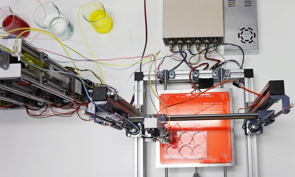 3D bioprinter prototype