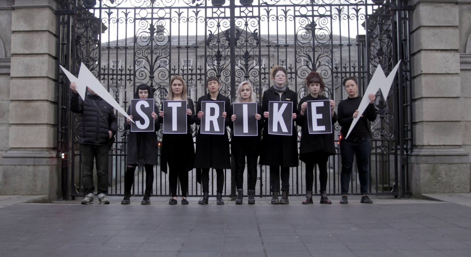 Irish women strike to change abortion laws