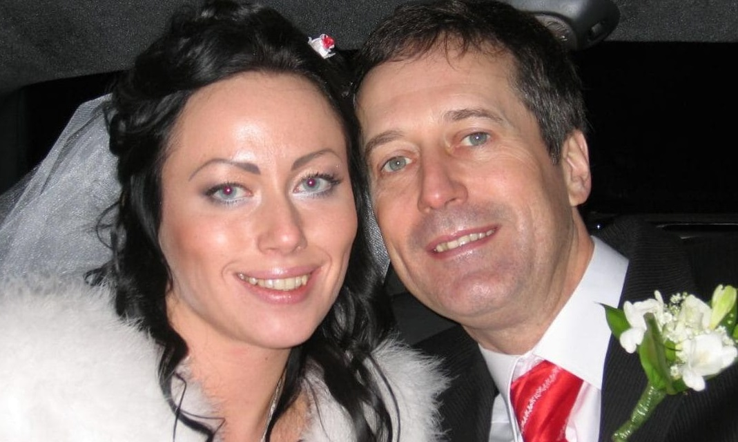 Barry Pring and his wife Ganna Ziuzina