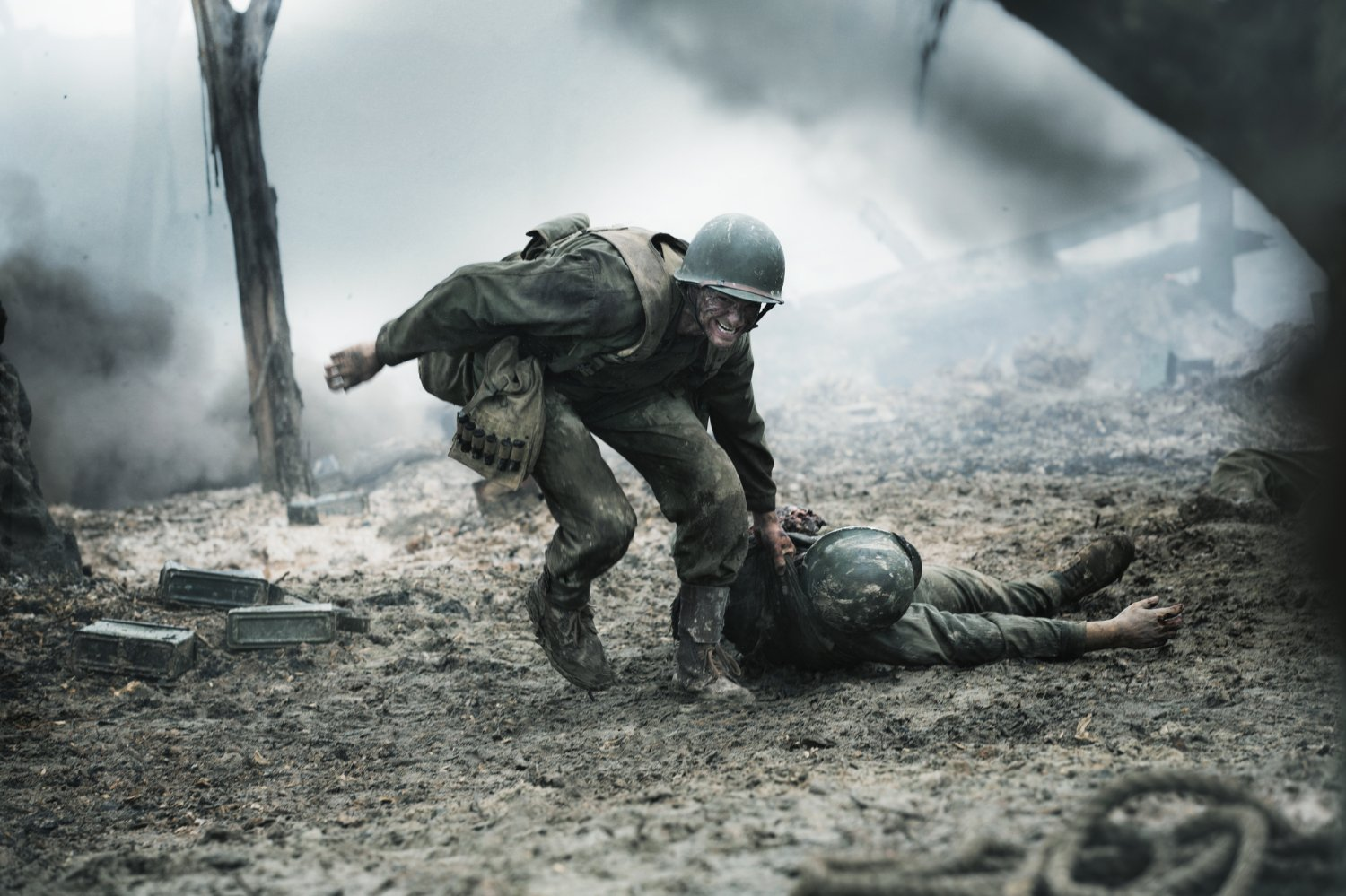 Hacksaw Ridge Review Mel Gibson Matches Spectacle With Heart In Andrew Garfield Led War Epic