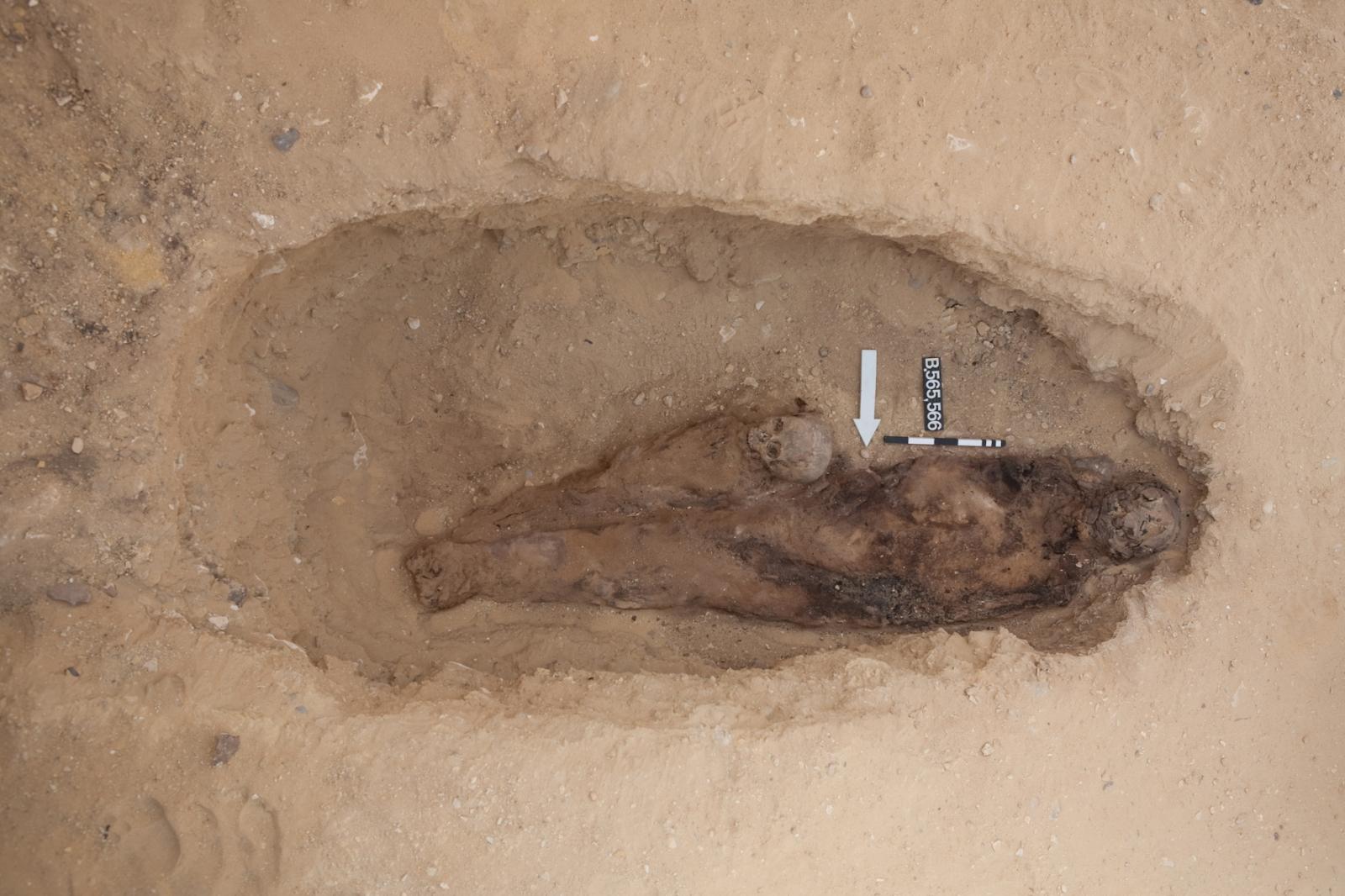 Saqqara burial