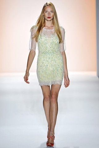 NYFW Jenny Packham Ready-To-Wear