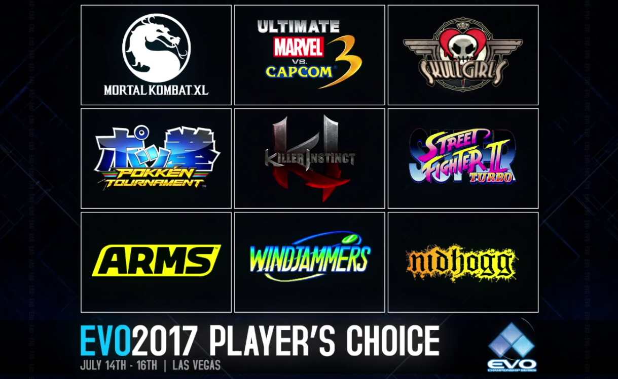 EVO 2017 Player's Choice