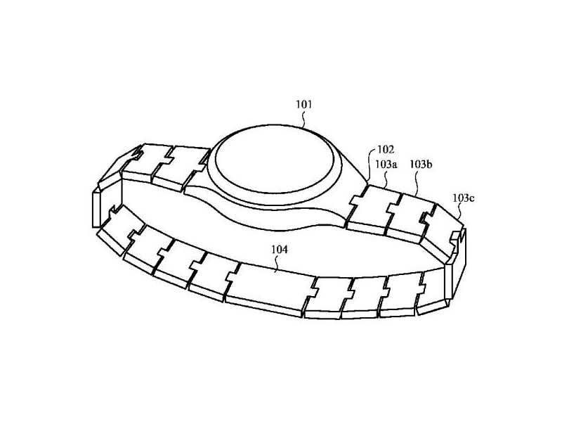 Apple watch strap patent