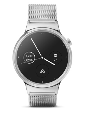 Android Wear 2.0 complications