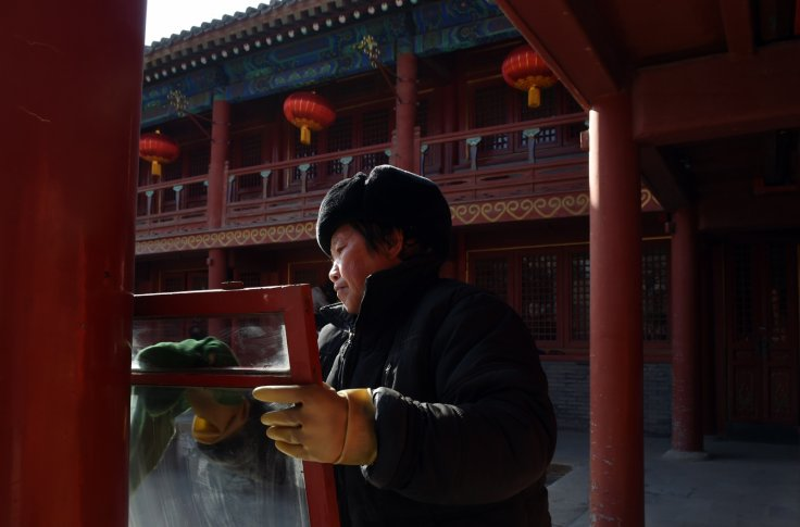 Chinese New Year cleaning